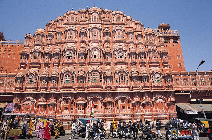 Дворец Хава Махал в Джайпуре