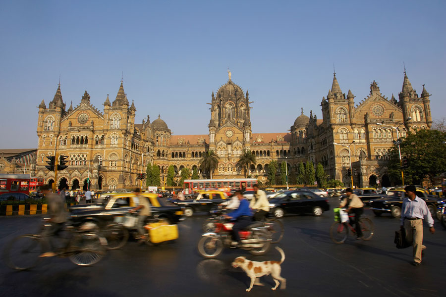 Вокзал Виктория в Мумбаи