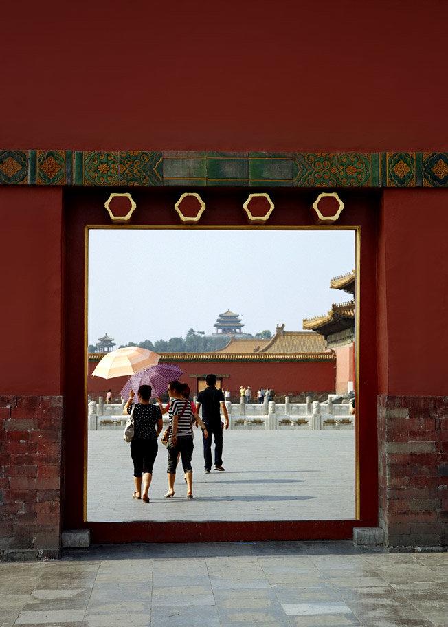 Запретный город — главная приманка для туристов в Пекине
